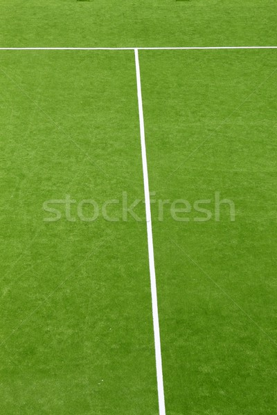 paddle tennis green grass camp field texture Stock photo © lunamarina