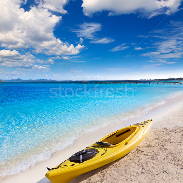 Mallorca praia natureza paisagem mar verão Foto stock © lunamarina