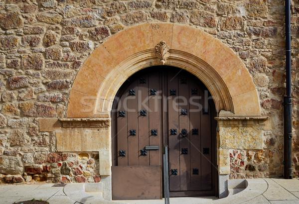 Salamanca in spain door detail Stock photo © lunamarina