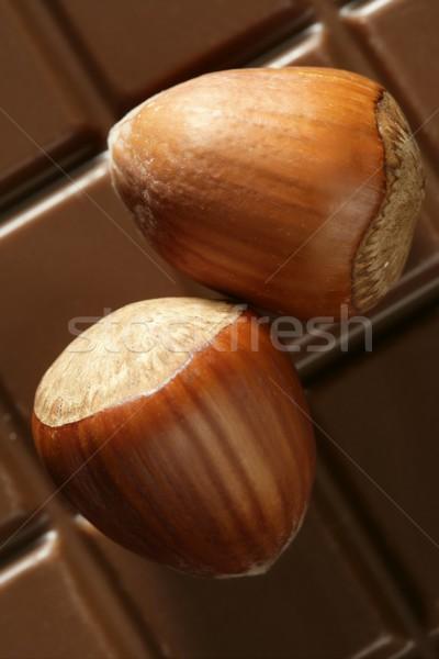 çikolata stüdyo altın kahverengi kış Stok fotoğraf © lunamarina