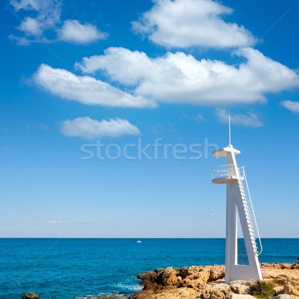Plaży morze Śródziemne morza Hiszpania wody charakter Zdjęcia stock © lunamarina
