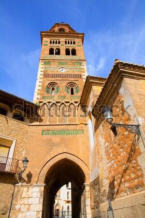 Aragon Teruel Mudejar Cathedral Santa María Mediavilla UNESCO Stock photo © lunamarina