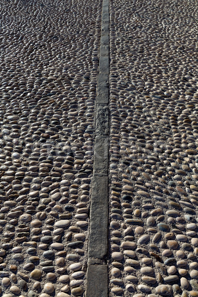 Pietre marciapiede suolo texture mediterraneo frazione Foto d'archivio © lunamarina