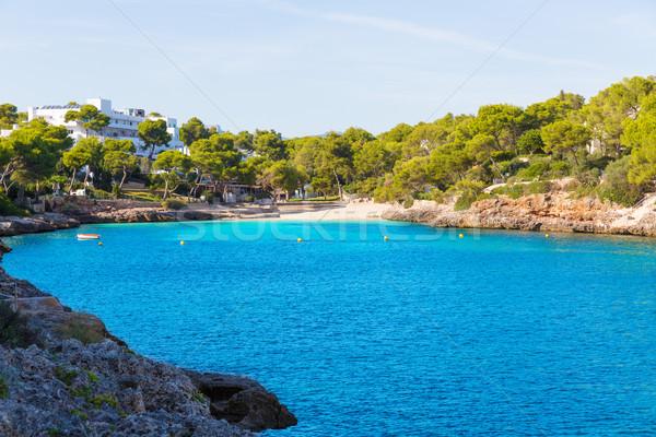 Majorca Cala Dor d Or beach in Mallorca Santanyi  Stock photo © lunamarina