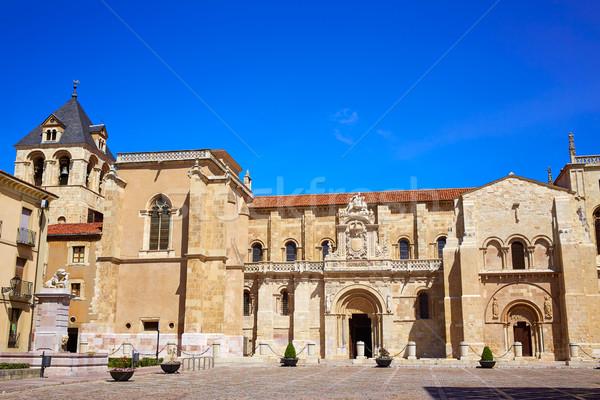 Igreja maneira edifício pedra arquitetura Foto stock © lunamarina
