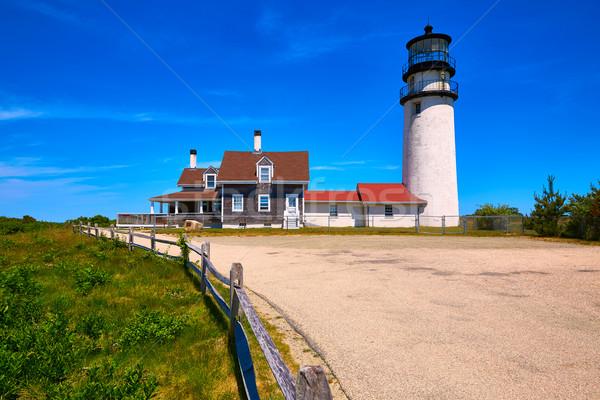 Cape Cod Truro lighthouse Massachusetts US Stock photo © lunamarina