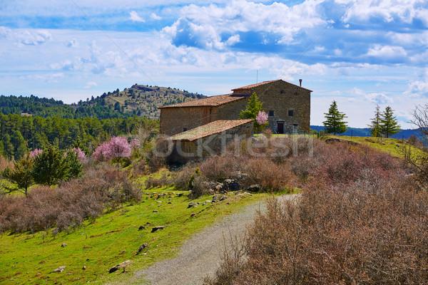 San Pedro in Teruel Sierra Albarracin Spain Stock photo © lunamarina