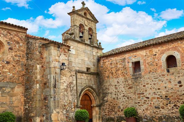 Caceres San Pablo convent in Spain Stock photo © lunamarina