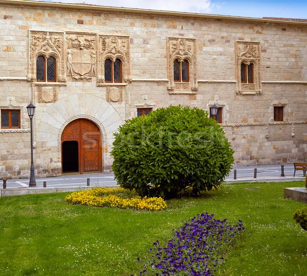 Placu pałac Hiszpania miasta architektury wakacje Zdjęcia stock © lunamarina