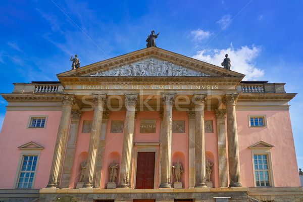 Berlin Staatsoper Opera building Germany Stock photo © lunamarina