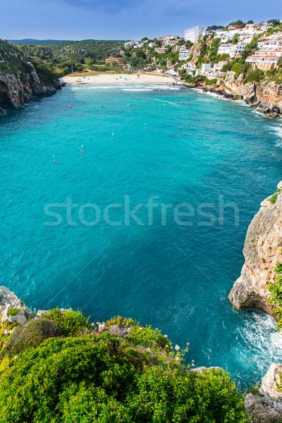 портье красивой пляж Испания природы Сток-фото © lunamarina