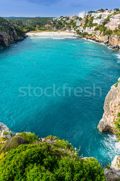 Portero hermosa playa España naturaleza Foto stock © lunamarina