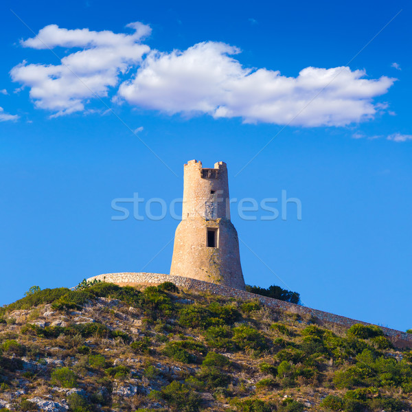 Denia Torre del Gerro tower Mediterranean Alicante Stock photo © lunamarina