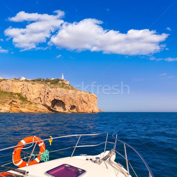 Javea Cabo de la Nao Lighthouse cape in Alicante Stock photo © lunamarina