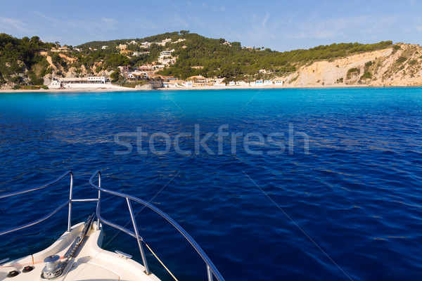 Javea Xabia Playa la Barraca Portichol Alicante Spain Stock photo © lunamarina