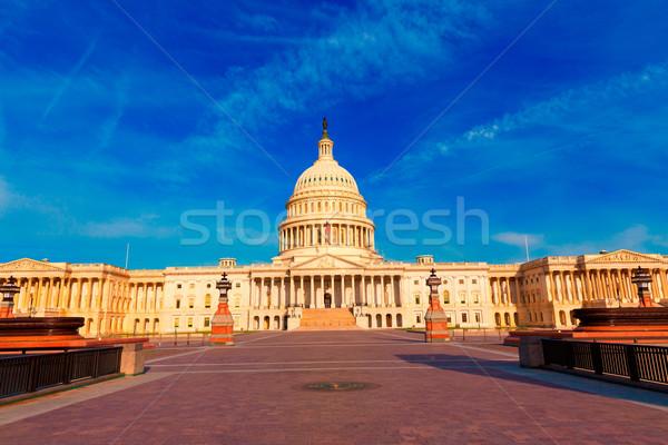 épület Washington DC homlokzat keleti USA ház Stock fotó © lunamarina