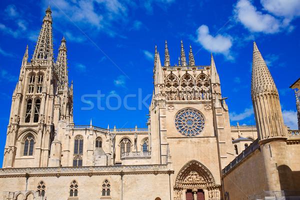 собора фасад святой способом небе здании Сток-фото © lunamarina