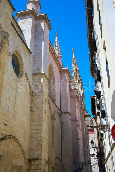 Burgos way to Cathedral on Saint James Way Stock photo © lunamarina