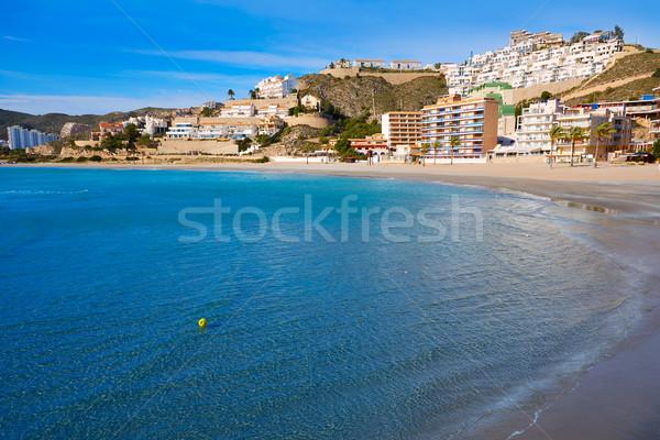 Cullera Playa los Olivos beach Valencia at Spain Stock photo © lunamarina