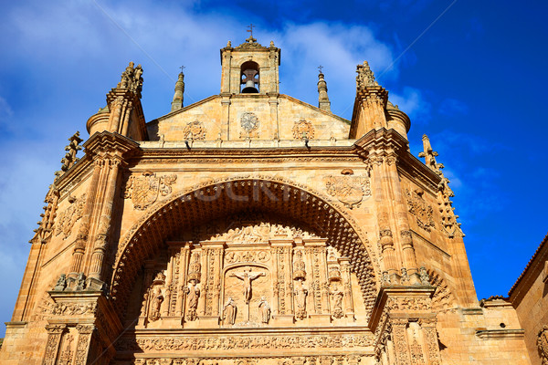 Stock photo: San Esteban Convent in Salamanca Spain