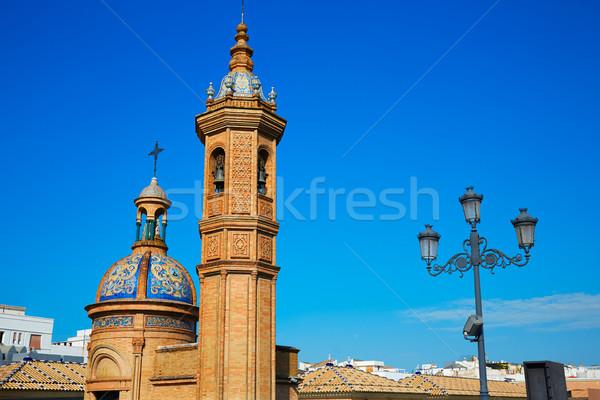Puente Isabel II bridge in Triana Seville Spain Stock photo © lunamarina