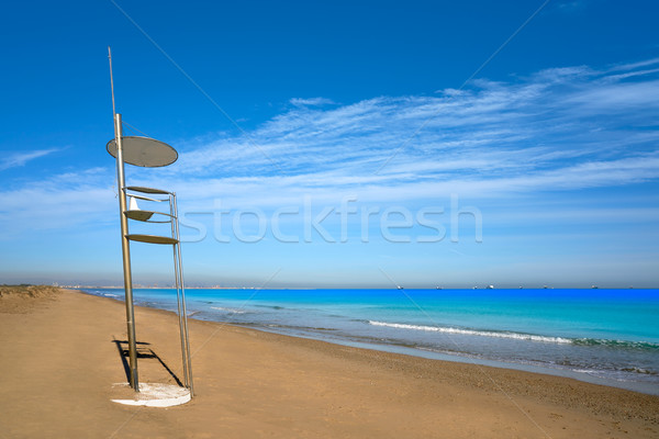 El Saler beach of Valencia at Mediterranean Stock photo © lunamarina