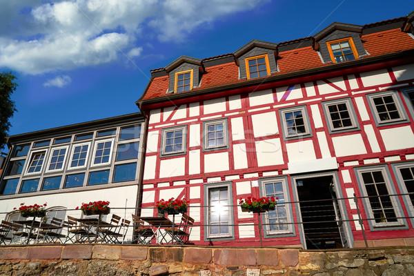 центра Германия весны город горные лет Сток-фото © lunamarina