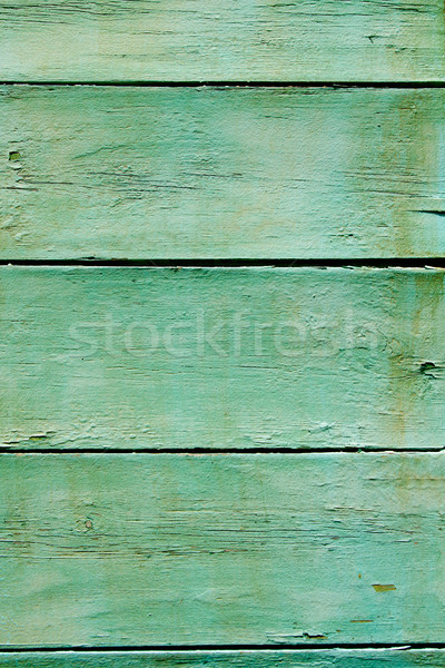 green grunge wood stripes pattern texture Stock photo © lunamarina