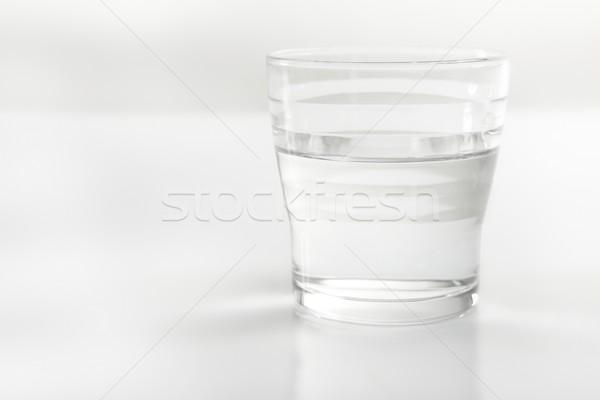 Glass of whater close up Stock photo © lunamarina