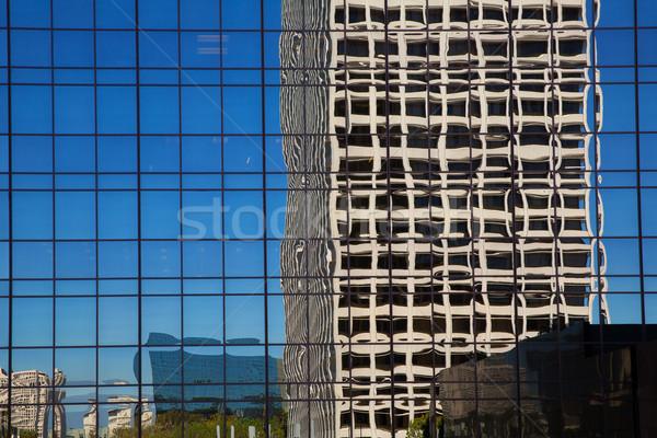 Centrum la Los Angeles Californië details stadsgezicht Stockfoto © lunamarina