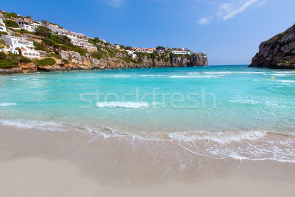 Cala en Porter beautiful beach in menorca at Balearics Stock photo © lunamarina