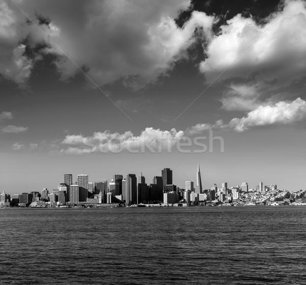 San Francisco Skyline Californie trésor île USA Photo stock © lunamarina