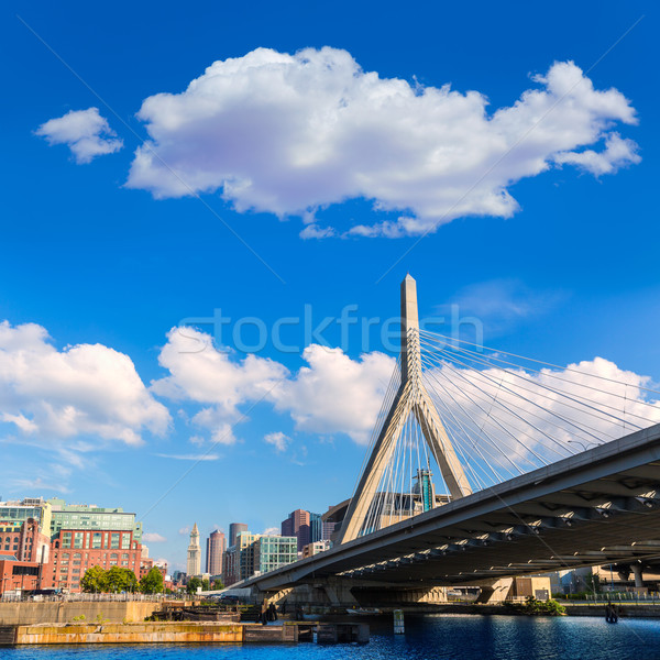 Boston brug heuvel Massachusetts USA business Stockfoto © lunamarina