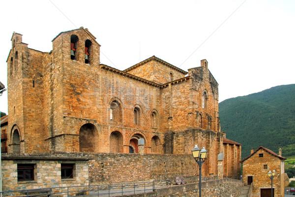 San Pedro siresa romanesque monastery Stock photo © lunamarina