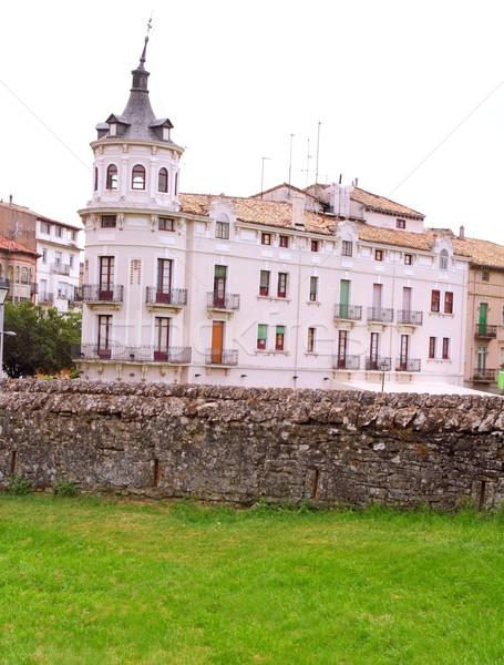 Jaca village in Huesca Aragon Spain Stock photo © lunamarina