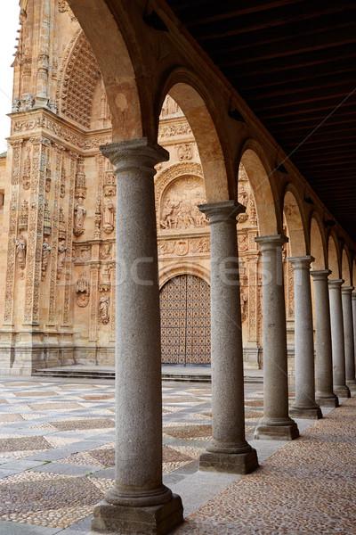 San Esteban Convent in Salamanca of Spain Stock photo © lunamarina