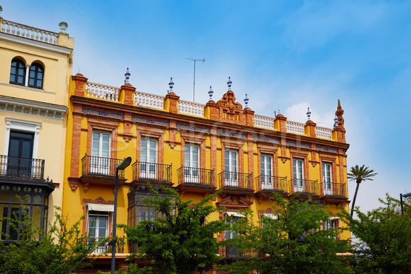 Seville San Fernando street in Andalusia Stock photo © lunamarina