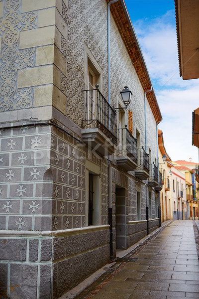 Zamora Rua de los Notarios Spain Stock photo © lunamarina