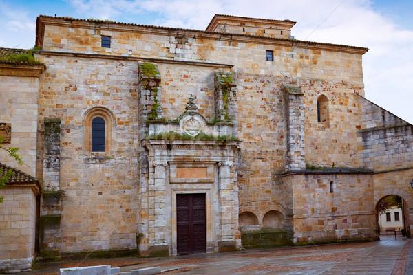 Kościoła fasada Hiszpania architektury wakacje religii Zdjęcia stock © lunamarina