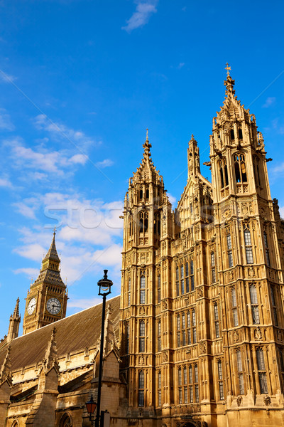 Westminster tower near Big Ben in London Stock photo © lunamarina
