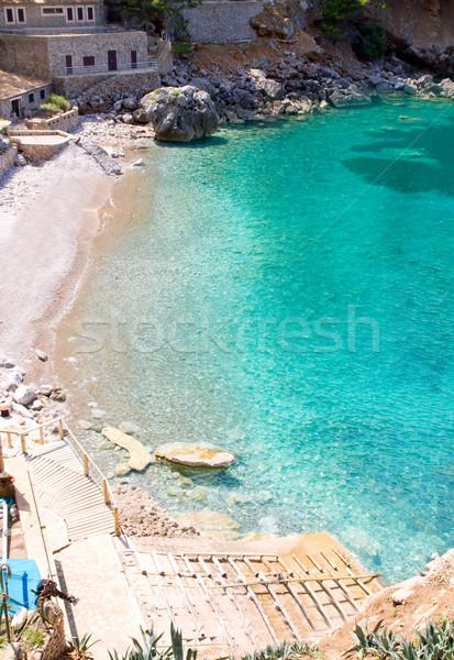 Сток-фото: пляж · Майорка · высокий · точки · мнение · пейзаж