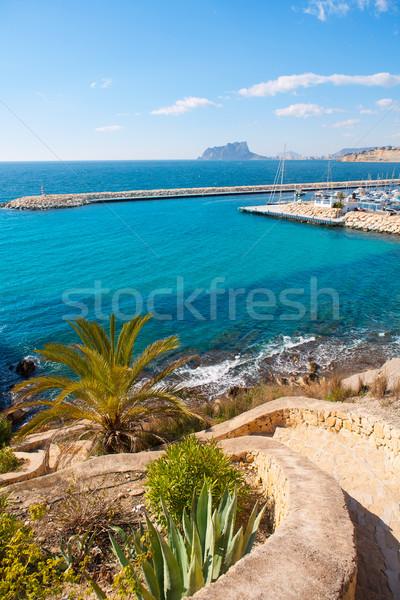 View mediterraneo Spagna acqua sole natura Foto d'archivio © lunamarina