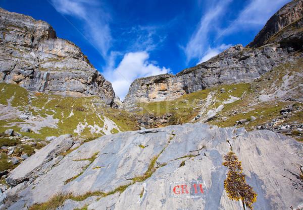 Circo de Soaso in Ordesa Valley Aragon Pyrenees spain Stock photo © lunamarina