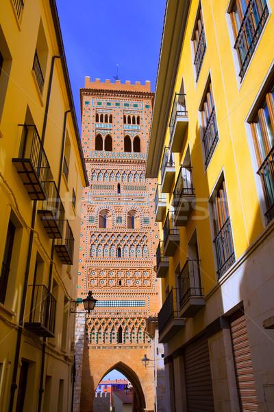 Unesco örökség Spanyolország terv világ művészet Stock fotó © lunamarina