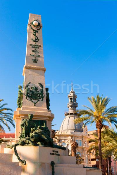 Cartagena Murcia Cavite heroes memorial Spain Stock photo © lunamarina