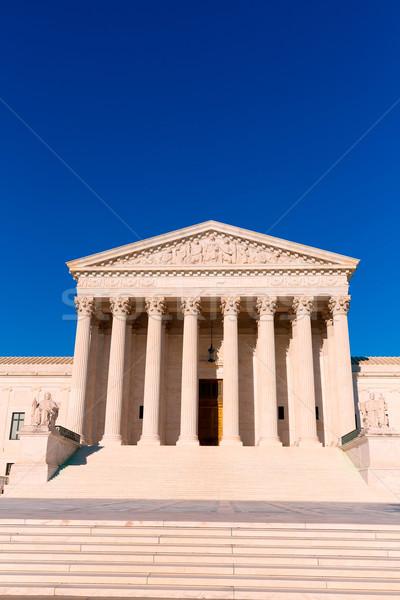 Supreme Court United states building Washington Stock photo © lunamarina