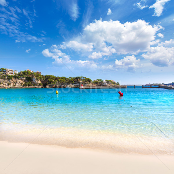 Stock photo: Majorca Porto Cristo beach in Manacor at Mallorca