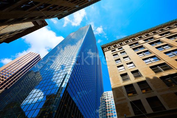 Сток-фото: Бостон · Массачусетс · центра · Cityscape · США · путешествия