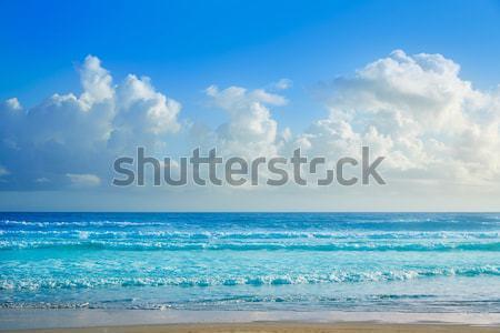 Spiaggia Florida shore onde USA acqua Foto d'archivio © lunamarina