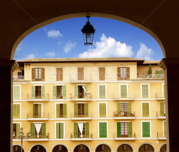 Majorca Plaza Mayor in Palma de Mallorca Stock photo © lunamarina